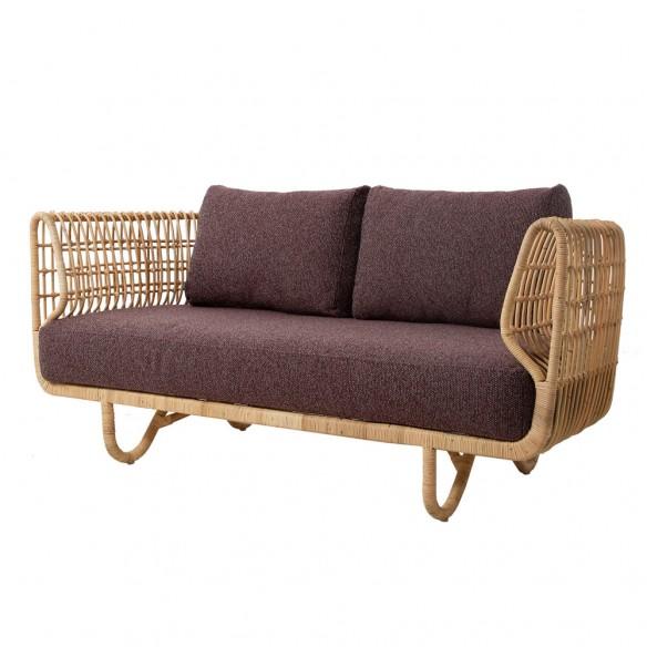 Cane-line Nest 2-seater sofa INDOOR