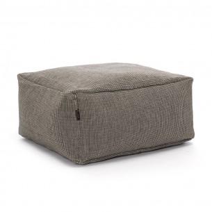 DOTTY Square Pouf Grey size S
