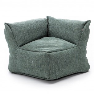 DOTTY CLUB CORNER Armchair Turquoise size M