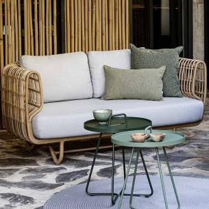 NEST Garden Sofa 2 Seater Light Grey