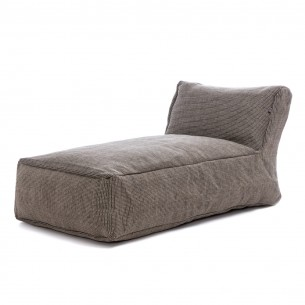 DOTTY Long Chair Grey Roolf