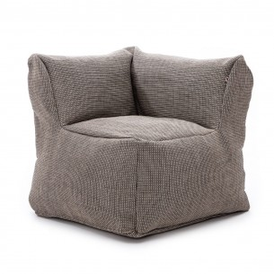 DOTTY CLUB CORNER Armchair Grey size XL Roolf
