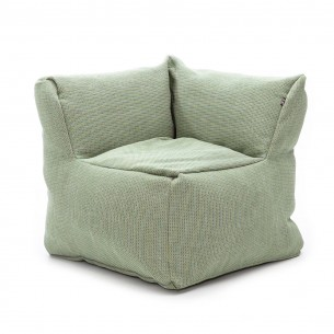 DOTTY CLUB CORNER Armchair Lime size XL