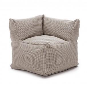 DOTTY CLUB CORNER Armchair Beige size XL