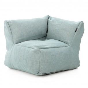 DOTTY CLUB CORNER Armchair Pastel Blue size M