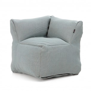 DOTTY CLUB CORNER Armchair Pastel Blue size XL