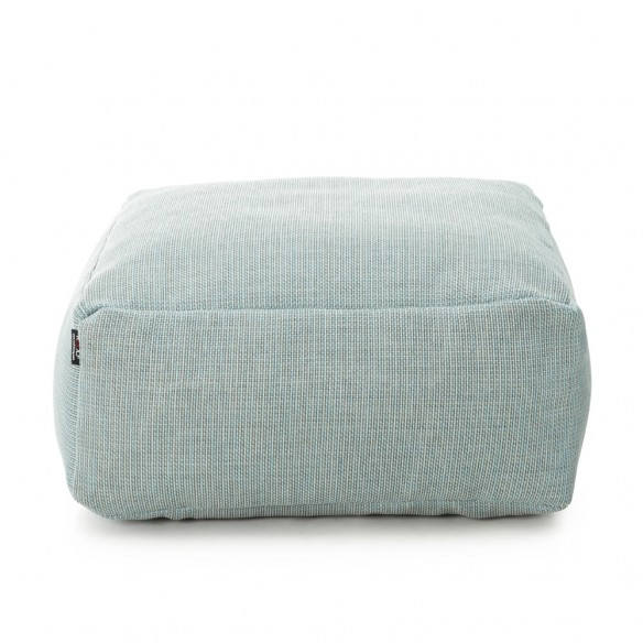 DOTTY Square Pouf Pastel Blue size S