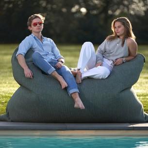 DOTTY Bag XL Turquoise – Giant Outdoor Pouf Cushion W210cm