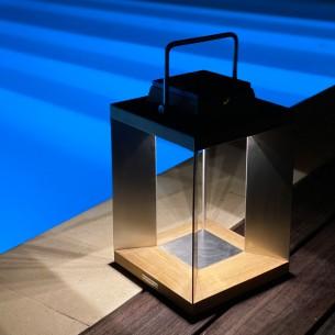 Lanterne solaire TECK INOX...
